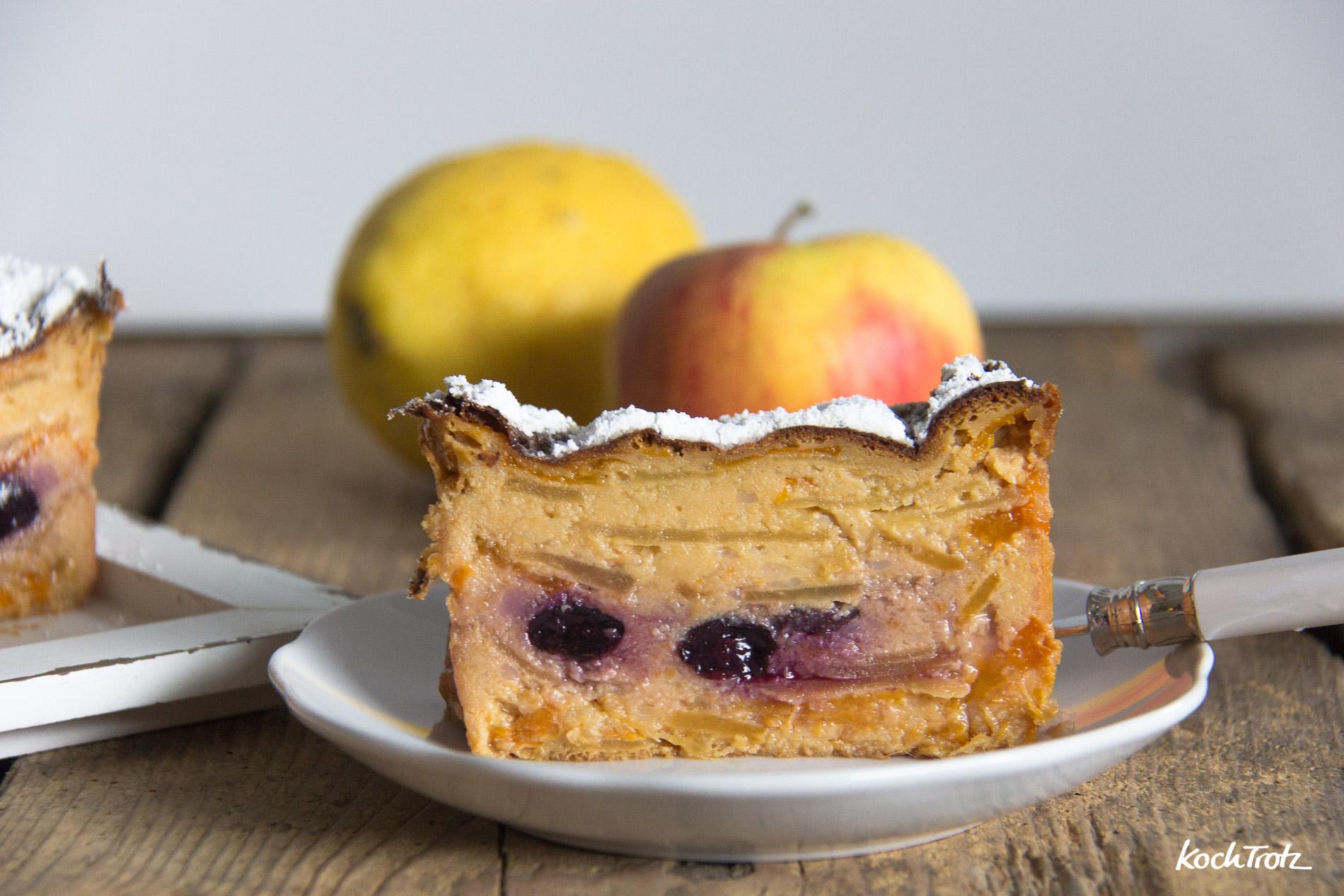 Gâteaux invisible   unsichtbarer Kuchen   Kuchen fast ohne Mehl   optional glutenfrei