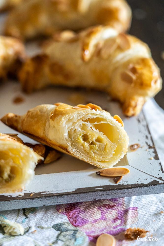 Rezept gefüllte Croissants, auch glutenfrei