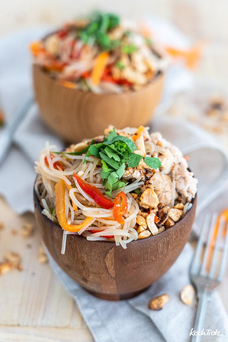 Rezept Thai Glasnudelsalat Yum Woon Sen