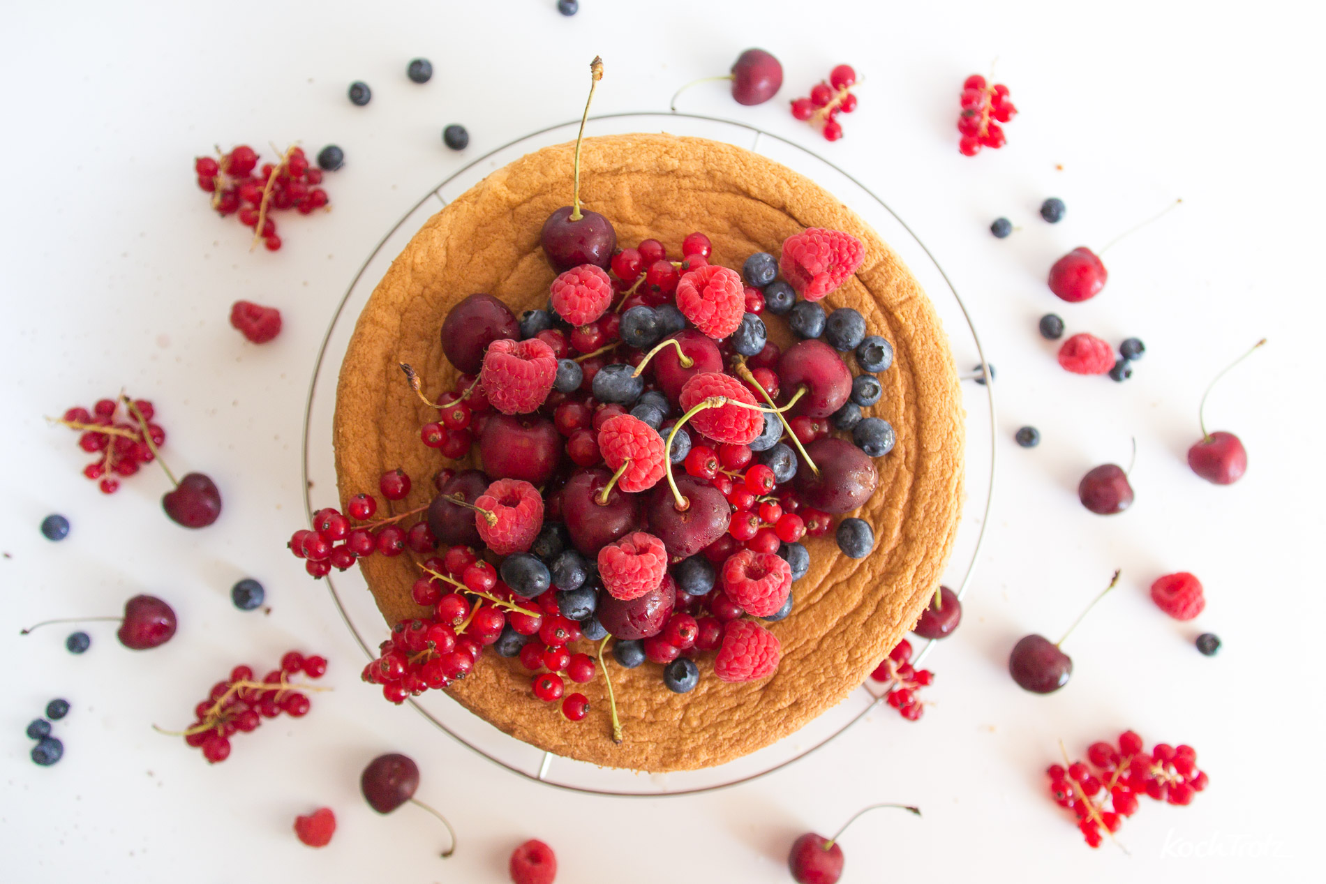 Grundrezept glutenfreier Biskuit | hell oder Schoko | gelingsicher und einfach