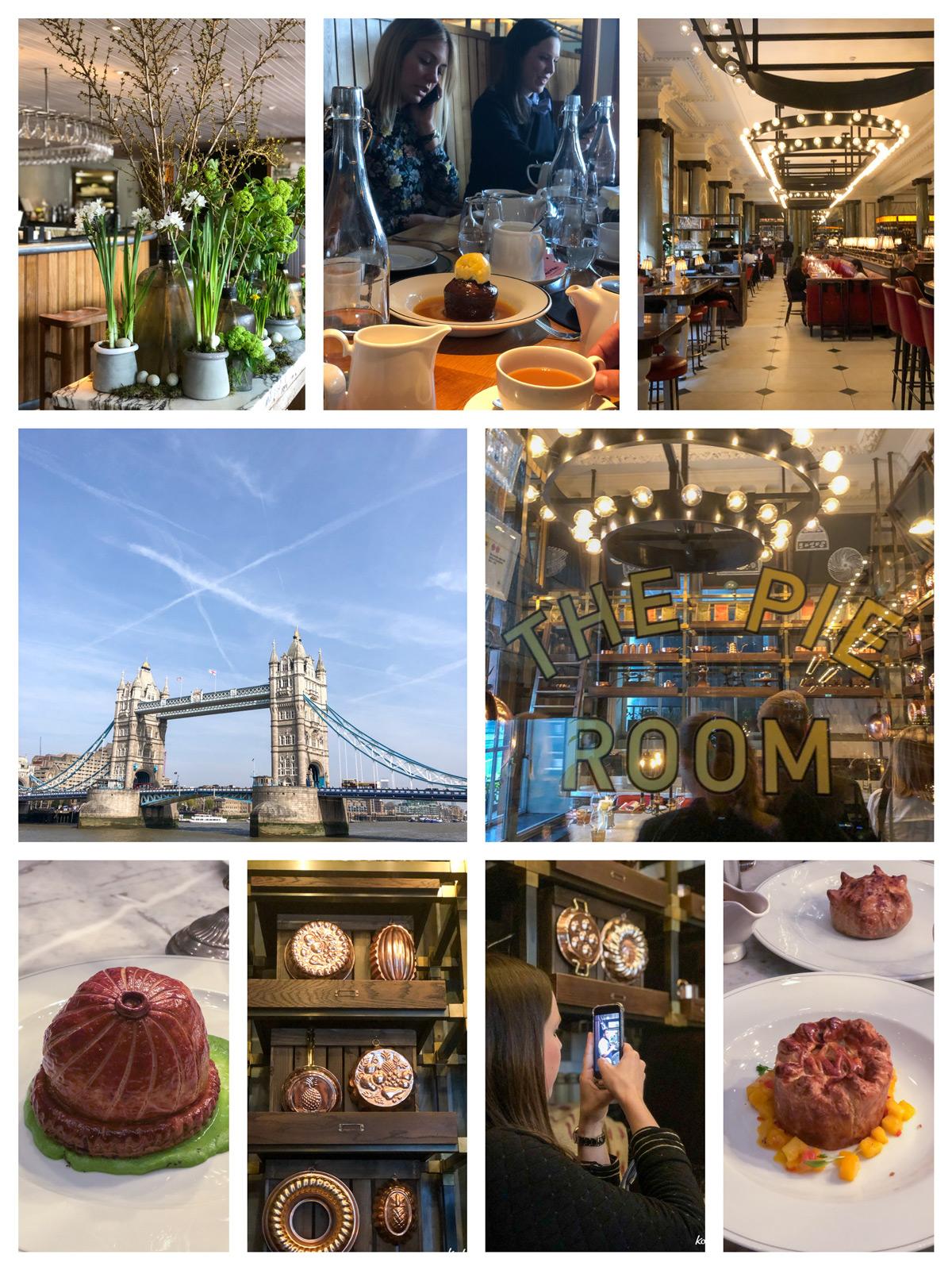 Restaurant Chop House und Holborn, London | Kenwood Reise | Rezept glutenfreies Shortbread