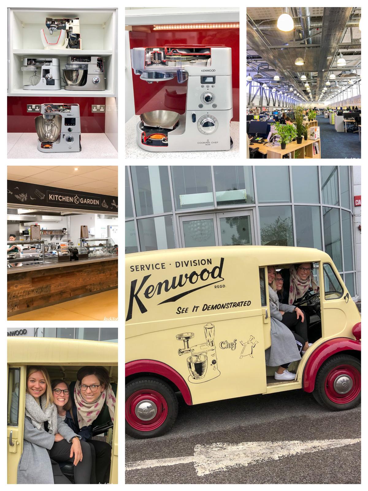 Zu Besuch bei Kenwood im Headquarter in UK