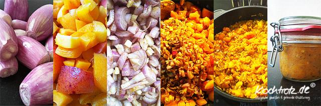Aprikosen-Schalotten-Chutney zuckerfrei