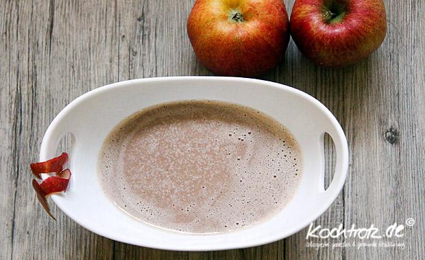Maronen-Apfel-Suppe