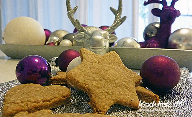 Orange-Ingwer-Dinkel-Haferflocken-Kekse