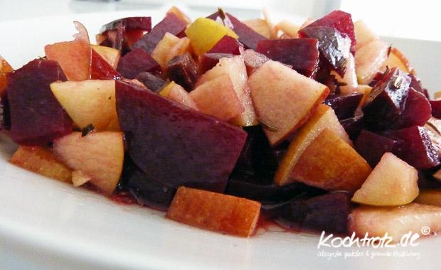 Rote Bete-Apfel-Salat