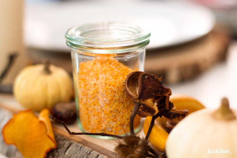 Kürbissalz selber machen | Geschenke aus der Küche