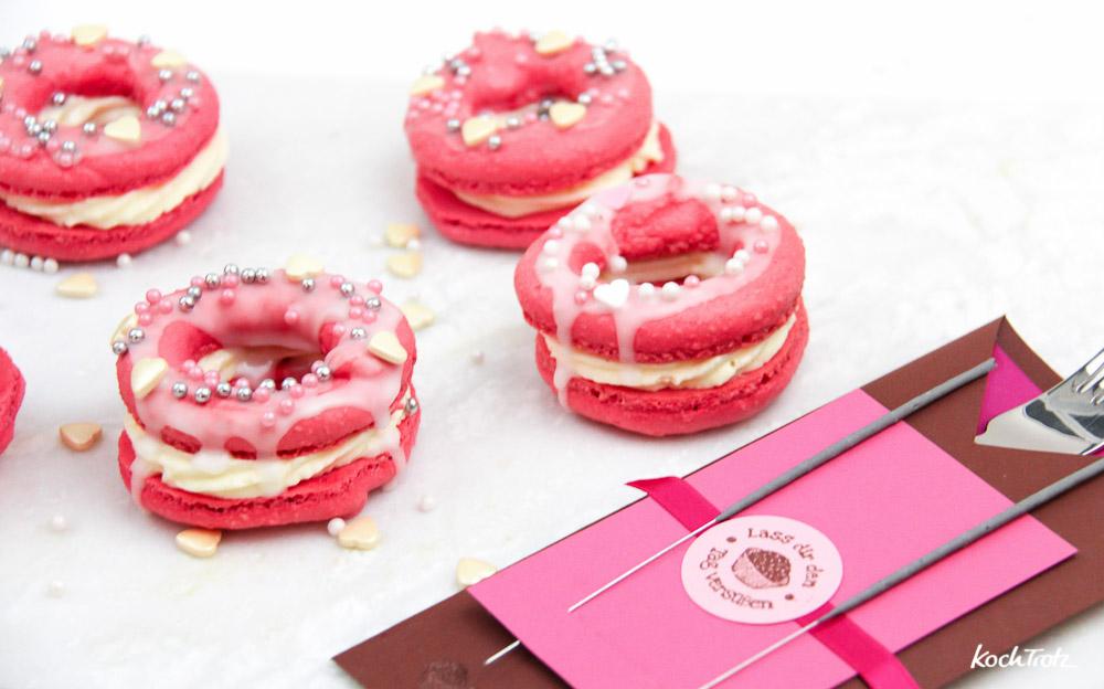 Macaronuts   Kreuzung aus Marcons und Donuts   glutenfrei