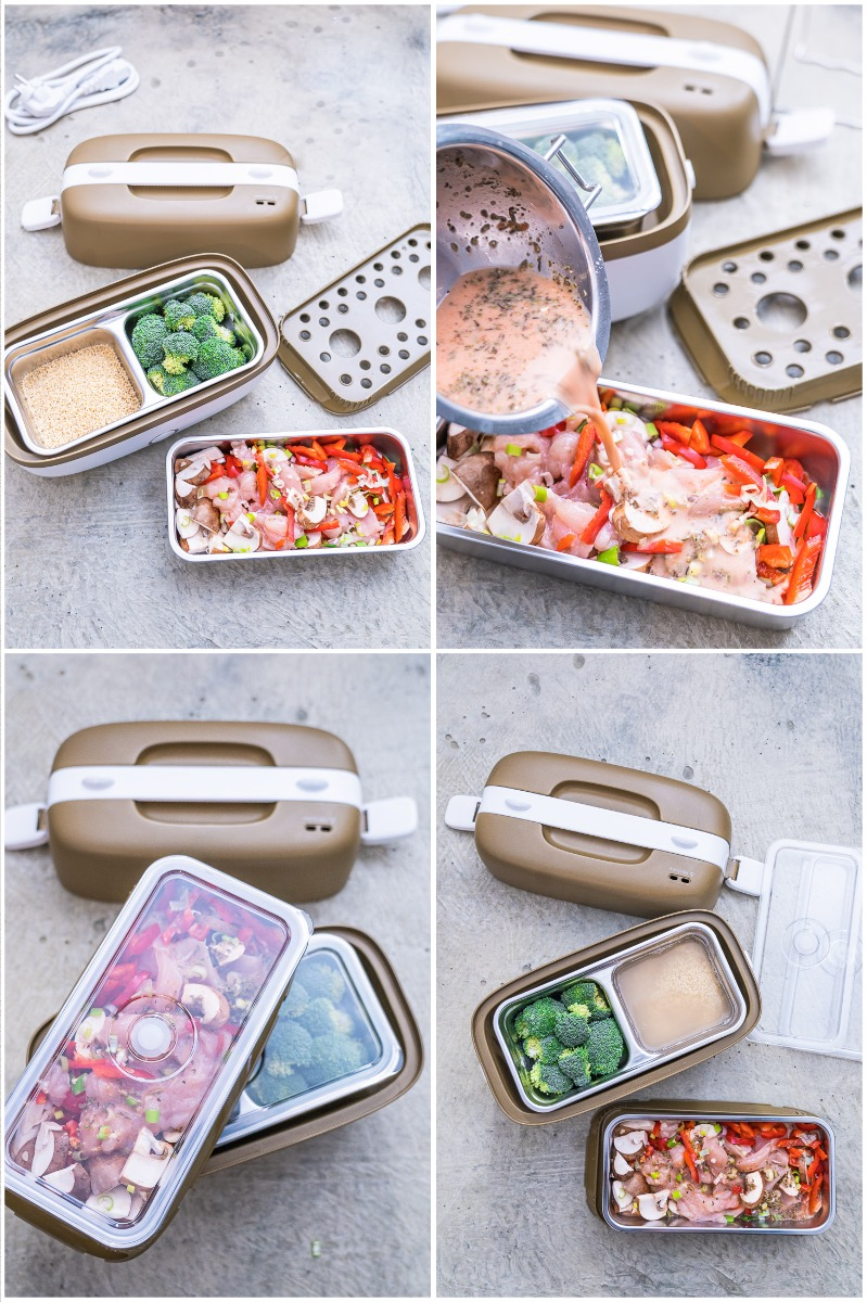 Miji Cookingbox One so geht's Zubereitung Gulaschtopf