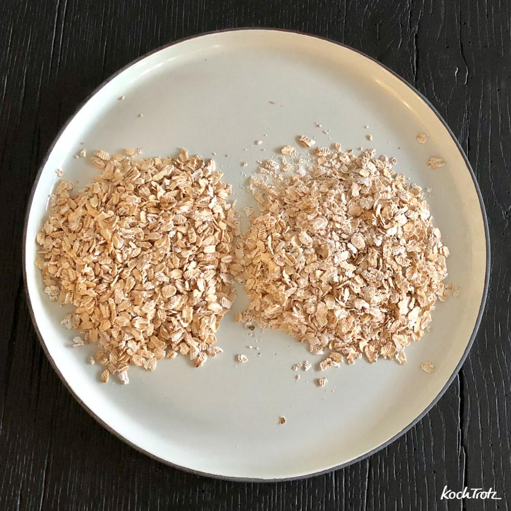 pfannengeröstetes Müsli   auch glutenfrei