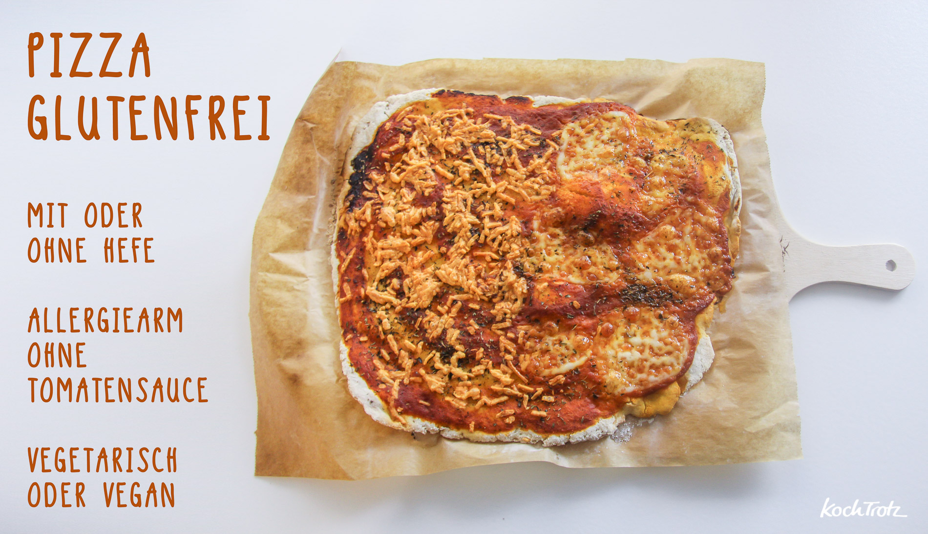 Leckerer glutenfreier Pizzateig der schmeckt und gelingt!