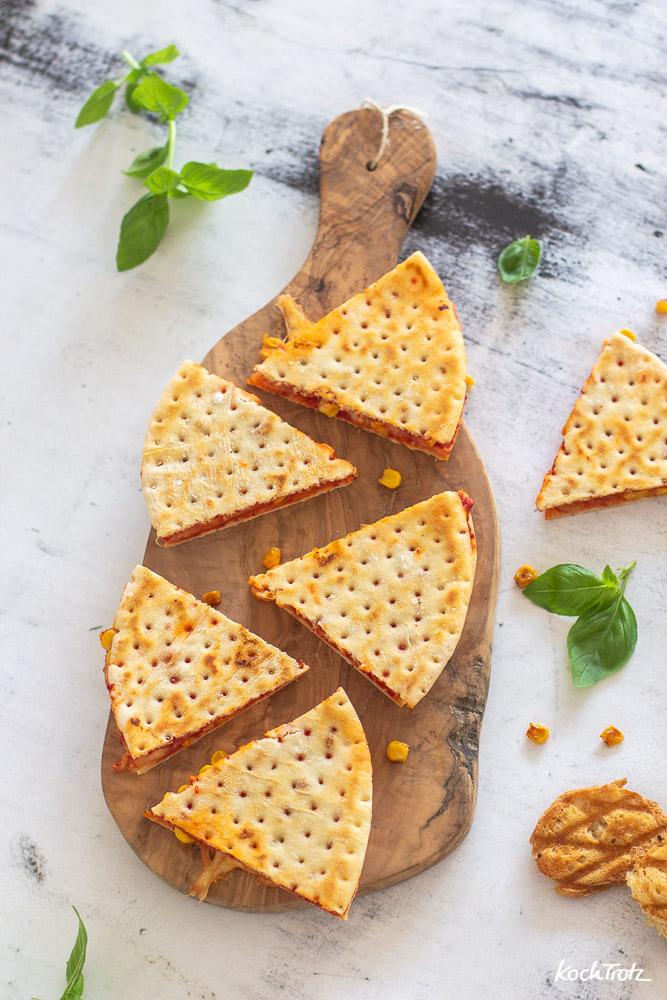 Pizzadillas | Snack | glutenfrei und laktosefrei