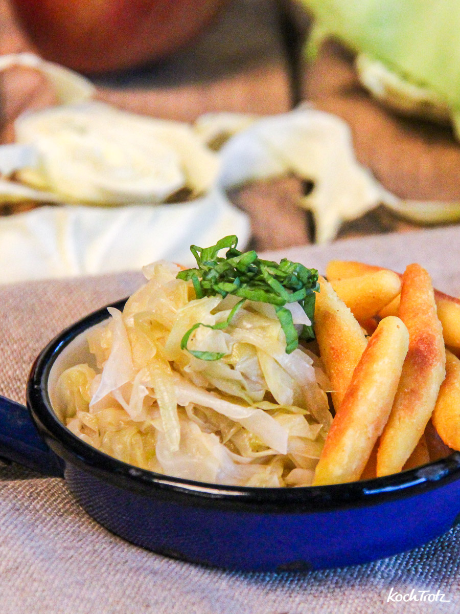 Rezept schnelles Sauerkraut histaminarm