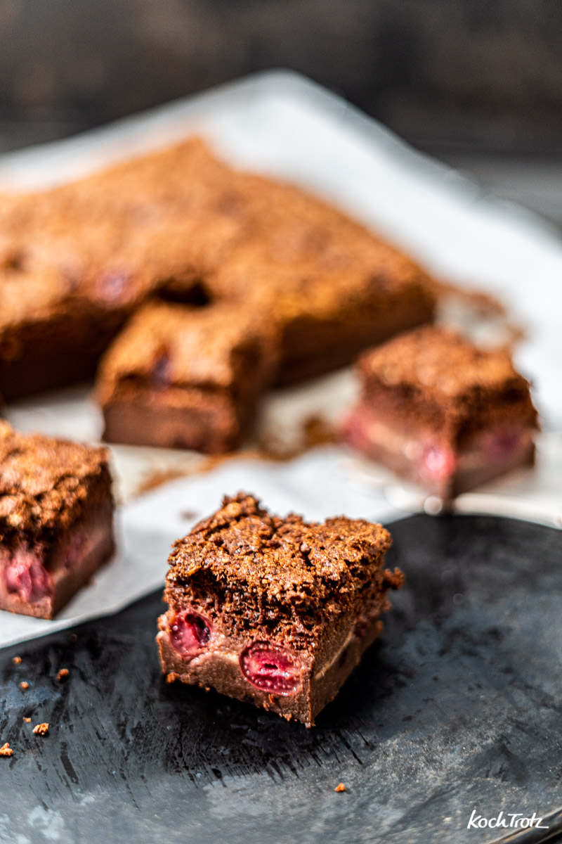 glutenfreier Schokoladen Magic Cake mit Reismehl | glutenfreier Zauberkuchen