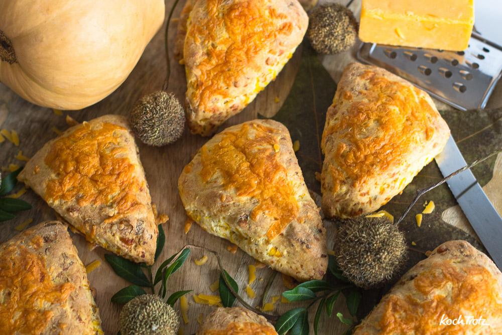 Kürbis-Käse-Scones