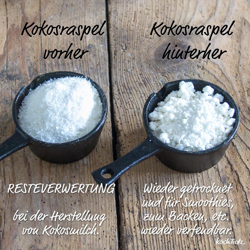 selbstgemachte Kokosmilch wie aus der Konservendose | mit Anleitung zum Haltbar machen