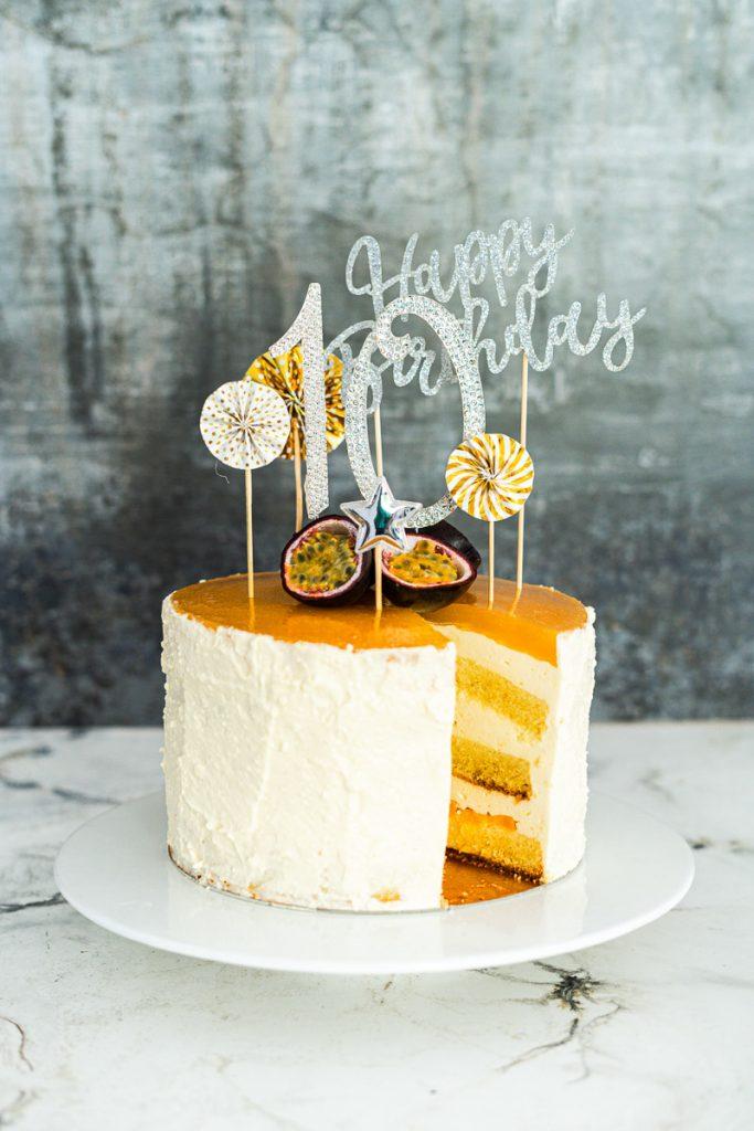 Geburtstags-Torte Rezept glutenfrei, Solerotorte