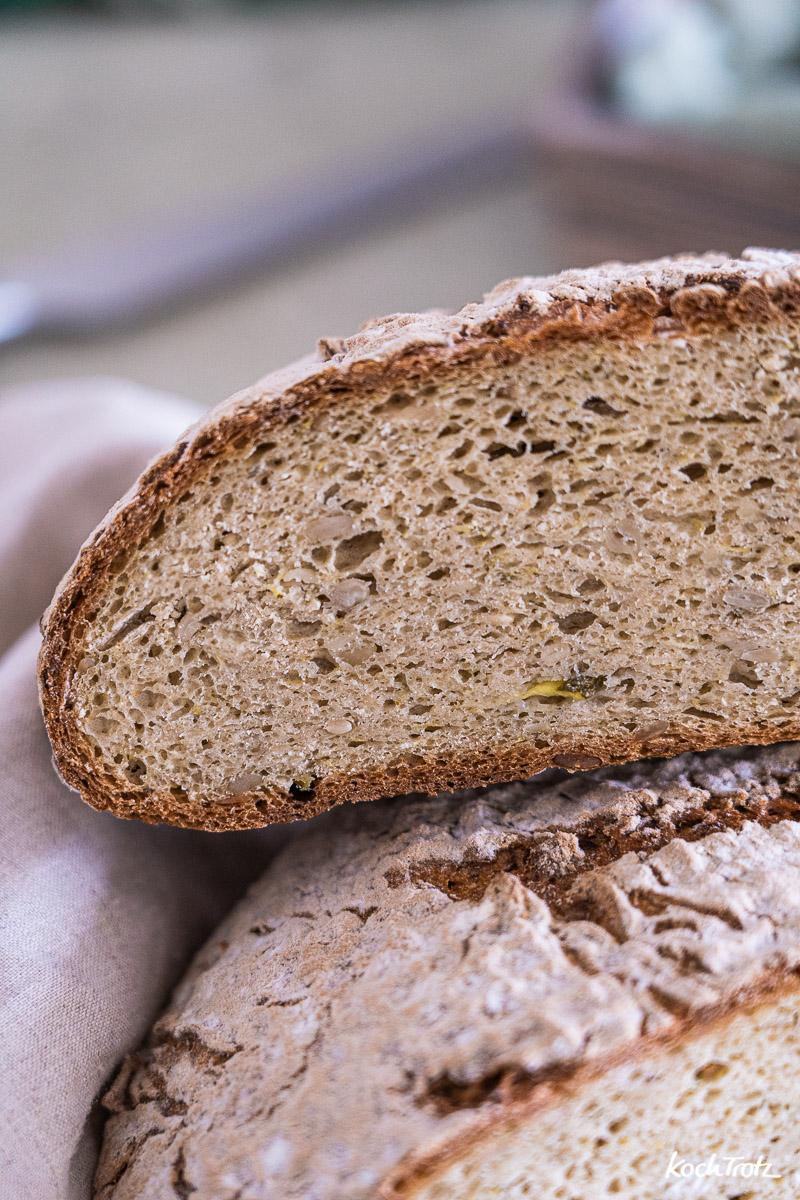 Rezept Zucchini-Brot glutenfrei