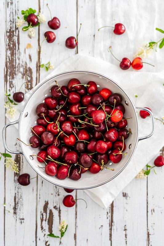 Kirschkompott einfaches Rezept auch zuckerfrei