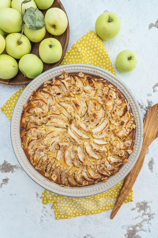 Rezept Apfel-Quark-Auflauf