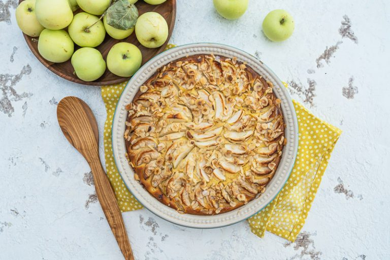 Apfel-Quark-Auflauf Rezept mit Ei-Alternative