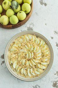 Zubereitung Apfel-Quark-Auflauf à la KochTrotz