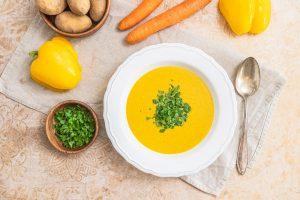 Rezept Kraftsuppe 5 Zutaten auch vegan