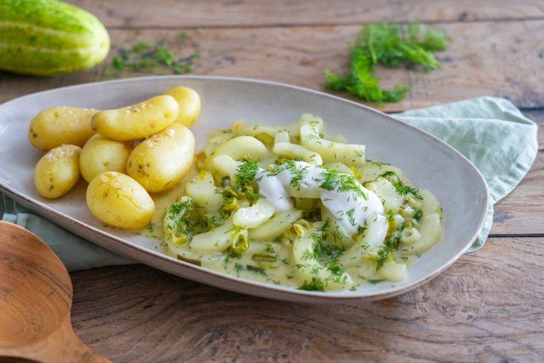 einfaches Rezept Schmorgurken vegetarisch vegan