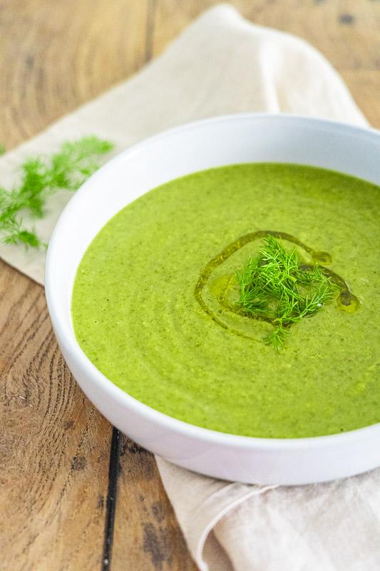 Rezept Erbsensuppe mit weißen Bohnen wahlweise vegan
